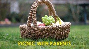 Picnic With Parents Picnic Basket
