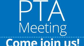 PTA meeting sign