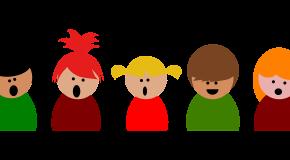 childern singing