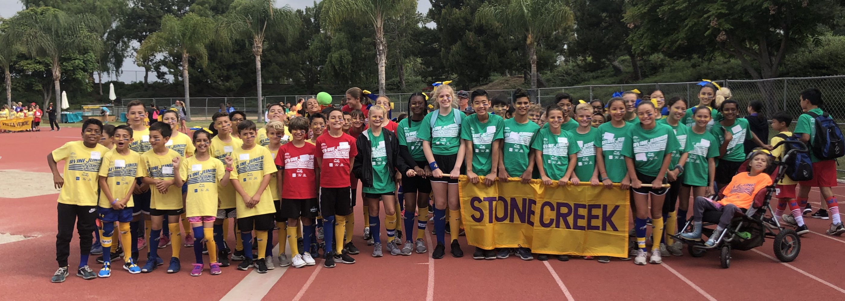 STONE CREEK AT IRVINE JUNIOR GAMES